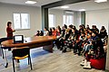 Students from Leo Tolstoy school visit Wikimedia Armenia office 27.12.2017 (04).jpg