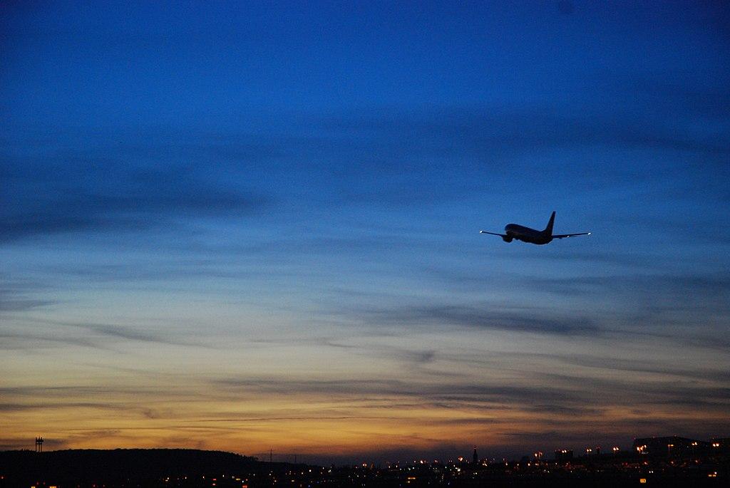 Stuttgart Airport at dusk (2241806475)