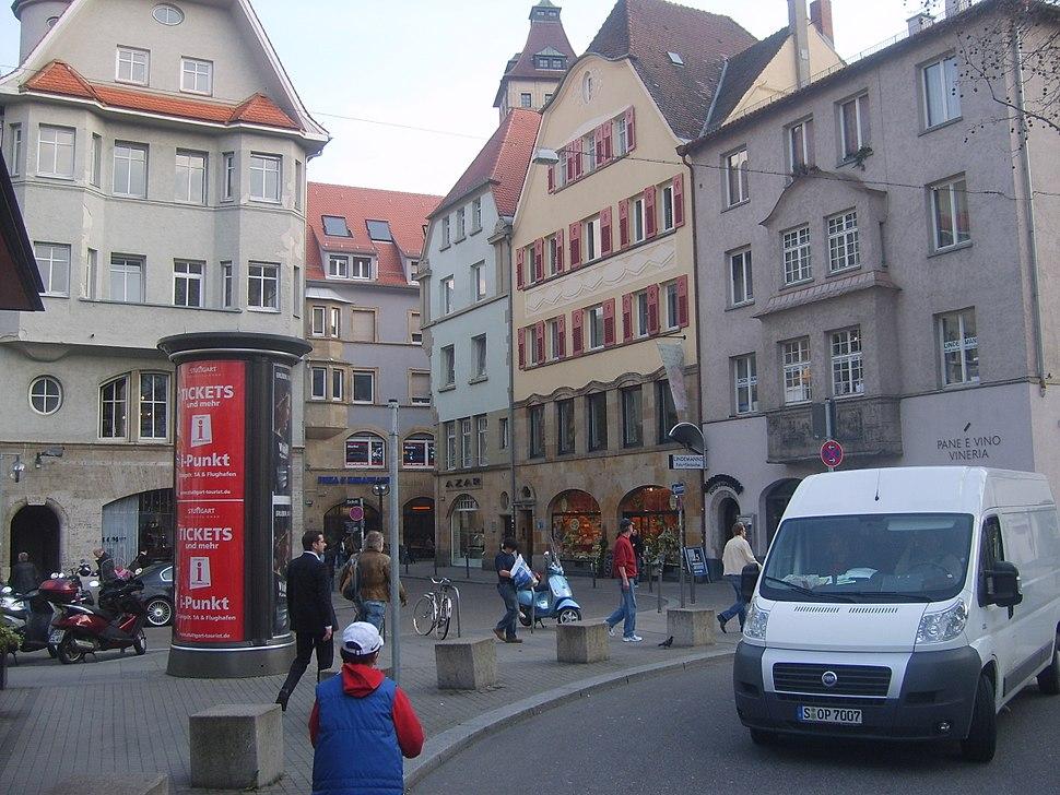 Stuttgart Downtown