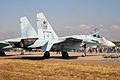 Suhkoi Su-27SM-3 Flanker 55 red (8584354380).jpg