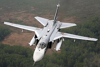 Sukhoi Su-24 - Su-24M of the Russian Air Force, May 2009
