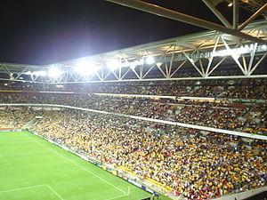 Suncorp Stadium before the 07/10/06 Australia ...