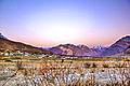 Sunrise over hills in Himachal Pradesh (10441206406).jpg
