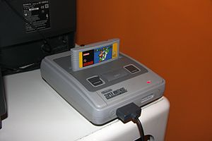 A Super Nintendo by Nintendo exhibited at the ...