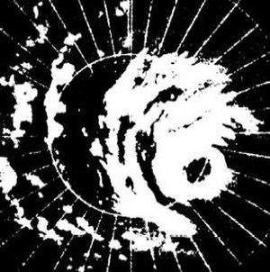1961 Pacific typhoon season - Image: Super Typhoon Nancy 61