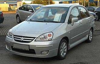 Pak Suzuki Motors - Image: Suzuki Liana 1.4 D Di S Comfort Facelift (EZ 8.2005) front