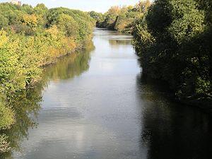 Sviyaga River - Sviyaga River at Ulyanovsk