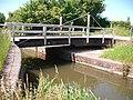 Swing bridge across Bridgwater and Taunton Canal - geograph.org.uk - 1333748.jpg