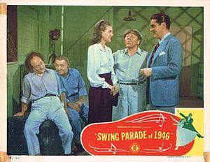 Swing Parade of 1946 - Lobby card