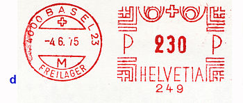 Switzerland stamp type BB7dd.jpg