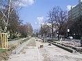 Szeged 4-es villamos tarjáni szakasza 2011-04-03.JPG