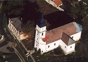 Tállya - Image: Tállya légifotó1