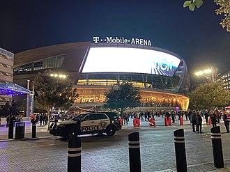 T-Mobile Arena - Image: T Mobile Arena in Las Vegas