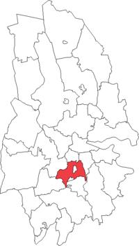 Kumla landskommune i Örebro amt