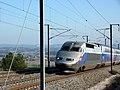 TGV Réseau Duplex 604 (LGV Méditerranée, Bouches-du-Rhône, France).jpg