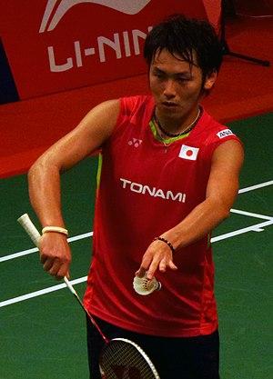 Takeshi Kamura - Image: TOTAL BWF World Champs 2015 Day 2 Takeshi Kamura