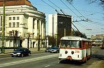Tallinn,Estonia. TTTK Škoda 9Tr Trolleybus nr. 206. May 1996.jpg