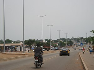 Tamale, Ghana - Highway in Tamale