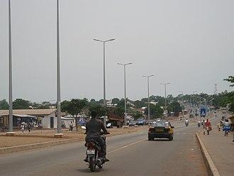 Tamale, Ghana - Highway in Tamale
