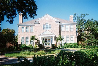 Hyde Park Historic Districts - House in district