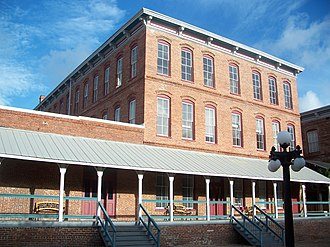 Ybor City - Ybor's first cigar factory