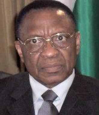 Nigerien general election, 2004 - Image: Tandja in Nigeria June 2007
