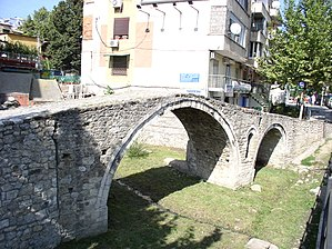 Tanners' Bridge - The Tanners' Bridge in Tirana
