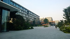 "Alibaba Group - ""Taobao City"", the main corporate campus for Alibaba Group at Xixi, Hangzhou."