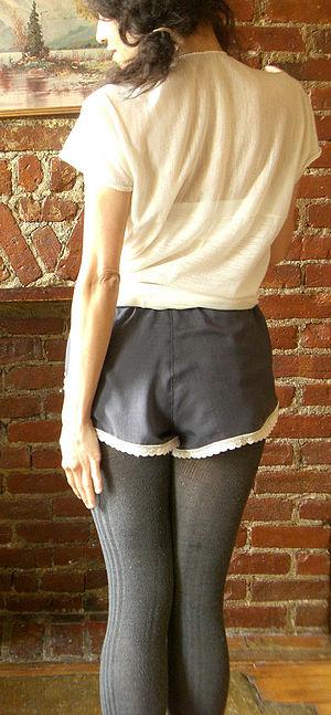Tap pants - Tap pants (rear view).