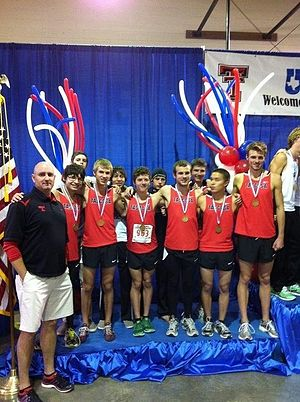 Tascosa High School - Tascosa boys qualified for their first ever state meet in 2011