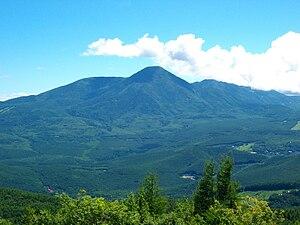 Takeminakata - Mount Tateshina on the border of the municipalities of Chino and Tateshina in Nagano Prefecture.