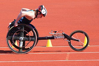 T54 (classification) - Tatyana McFadden at the Paralympic World Cup 2009