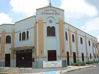 Juncos, Puerto Rico - Image: Teatro junqueno