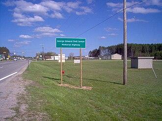George Seman - George Edward (Ted) Seman Memorial Highway