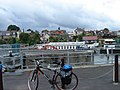 Teddington Lock with bike - geograph.org.uk - 306732.jpg