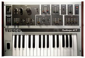 Teisco - Teisco Synthesizer 60F