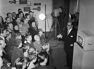 Swedish National Museum of Science and Technology - Image: Tekniska museet 1952