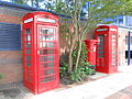 Telephone booths and postbox at Exchange Quay, Salford (2).JPG