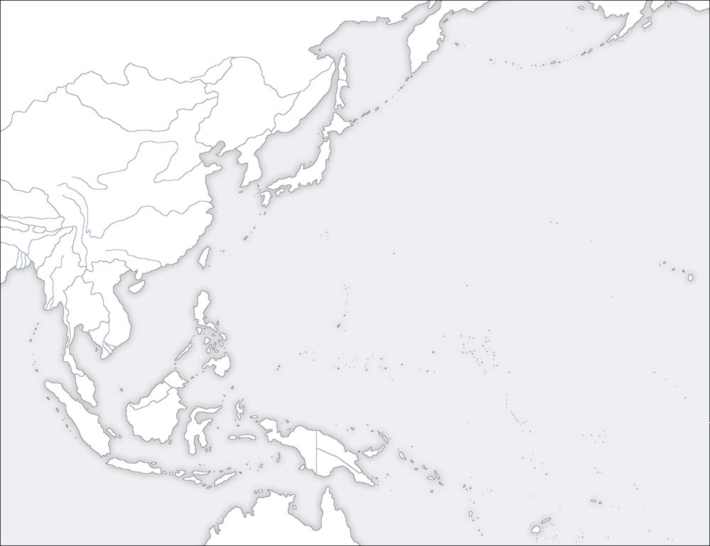 Map Of Asia Template.File Template East Asia Map Png Wikimedia Commons