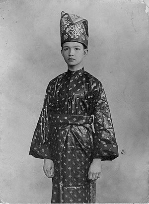 Malays (ethnic group) - Tengku Abd Aziz, the Prince of Terengganu in a classical formal Malay attire. (c. 1920)