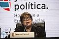 Teresa Parodi en la apertura de El pueblo y la política homenaje a Ernesto Laclau (21977238096).jpg