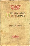 First edition cover of The Red Badge of Courage (1895)