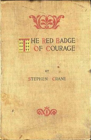 The Red Badge of Courage - First edition cover of The Red Badge of Courage (1895)