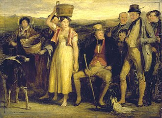 Adam Ferguson (British Army officer) - Image: The Abbotsford Family by Sir David Wilkie