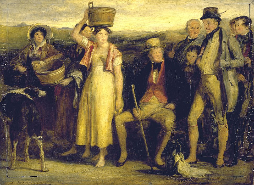 The Abbotsford Family by Sir David Wilkie