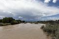 The Arkansas River, swollen by heavy spring rains in 2015, in rural Crowley County, Colorado LCCN2015632777.tif