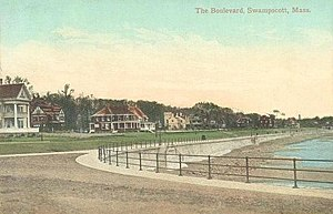 Swampscott, Massachusetts - The Boulevard in 1910
