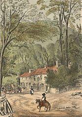 The Brittania Inn, Tyn-Y-Pistyll near Llangollen