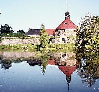 Kexholm County - A photograph of the Castle of Kexholm at Priozersk.