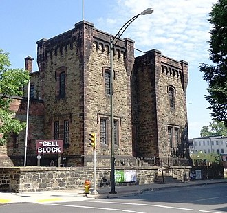 Williamsport, Pennsylvania - Lycoming County Prison was built between 1799 and 1801; today it is a night club.